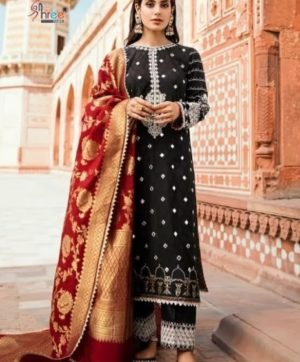 SHREE FABS QALAMKAR LAWN COLLECTION IN SINGLE PIECE