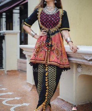 MESMORA DHOLIDA FOR NAVRATRI IN SINGLE 2019 COLLECTION (1)