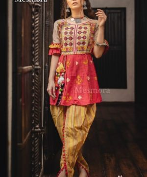 MESMORA DHOLIDA FOR NAVRATRI IN SINGLE 2019 COLLECTION (13)