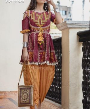 MESMORA DHOLIDA FOR NAVRATRI IN SINGLE 2019 COLLECTION (9)