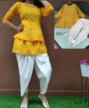 WESTERN TOP AND TULIP KURTIS COLLECTION