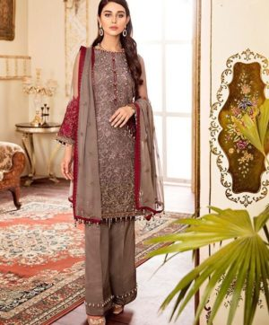 LATEST GORGETTE SUITS IN SINGLE AT WHOLESALE PRICE