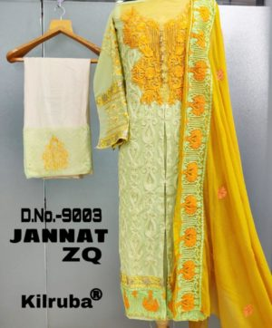 KILRUBA JANNAT ZQ  LATEST SALWAR SUITS COLLECTION