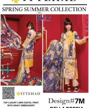 KILRUBA ITTEHAD SPRING SUMMER COLLECTION NO 7M PAKISTANI SUITS
