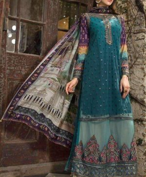 SHREE FABS MARIA B FESTIVE COLLECTION HIT DESIGN IN SINGLE