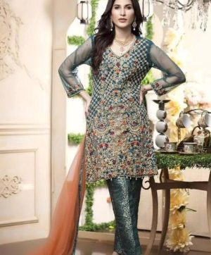 PAKISTANI SALWAR SUITS D.NO 0068 B IN SINGLE PIECE SUPPLIER