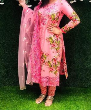 MINA HASAN BY SAMAIRA FASHION HIT DESIGN IN SINGLE