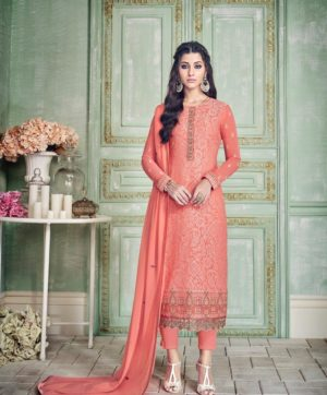 GLOSSY INARA PAKISTANI SUITS AT WHOLESALE PRICE