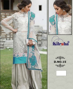 KILRUBA SUITS ONLINE D 15 NET PAKISTANI SUITS