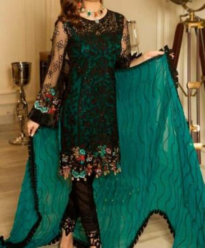 RAMSHA R-114 PAKISTANI SUITS SUPPLIER