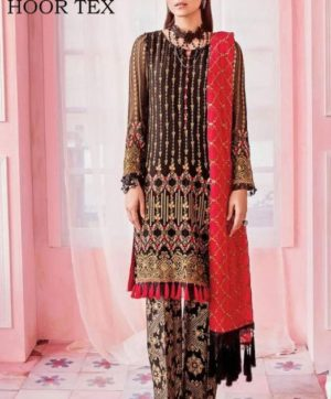 HOOR TEX NAFIZA COLOUR GOLD VOL 9 IN SINGLE 16002-A LATEST SUITS COLLECTION