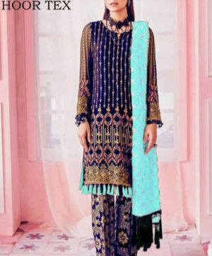 HOOR TEX NAFIZA COLOUR GOLD VOL 9  PAKISTANI SALWAR SUITS WHOLESALER