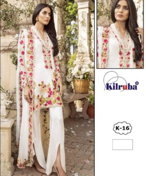 KILRUBA K-16 SALWAR SUITS SUPPLIER