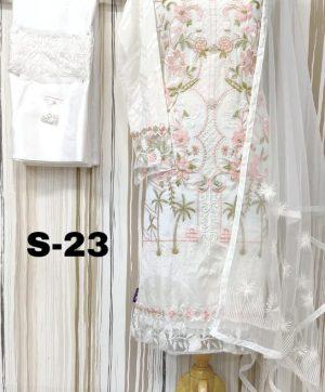 SHANAYA DESIGN NO S-23  SALWAR SUITS SUPPLIER
