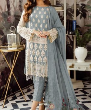 SHANAYA FASHION S 22 GREY  SALWAR SUITS