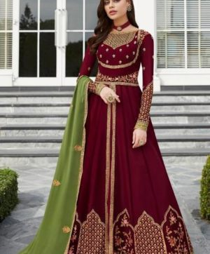AASHIRWAD CREATION NAYRA 7031 ANARKALI SUITS
