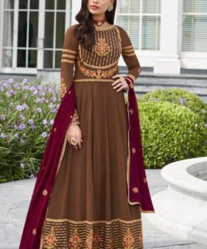 AASHIRWAD CREATION NAYRA 7034 ANARKALI SUITS