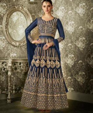 AASHIRWAD CREATION ANARKALI 1004 SUITS WHOLESALER