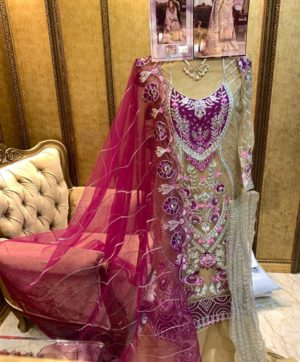CYRA FASHION SHAKINA 14002 PAKISTANI SUIT WHOLESALER