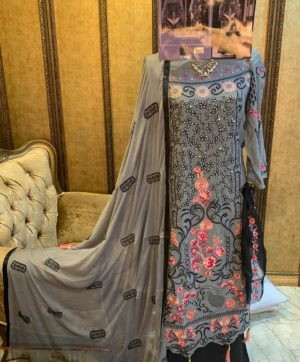 CYRA FASHION SHAKINA 14001 PAKISTANI SUIT WHOLESALER