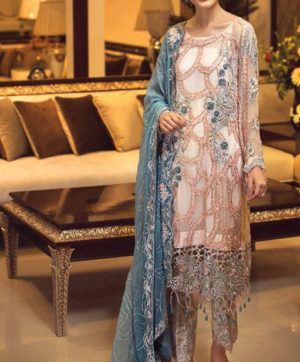 RINAZ FASHION D NO 14004 PAKISTANI SUITS IN SINGLE