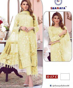 SHANAYA FASHION DESIGNER DRESS COLLECTION S 17 C