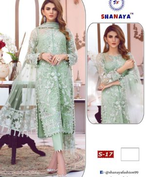 SHANAYA FASHION DESIGNER DRESS COLLECTION S 17