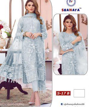 SHANAYA FASHION DESIGNER DRESS COLLECTION S 17 B
