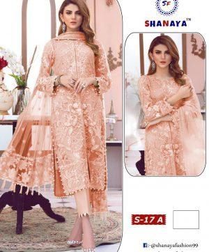 SHANAYA FASHION DESIGNER DRESS COLLECTION S 17 A