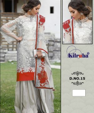 KILRUBA JANNAT SUITS ONLINE D 15 NET PAKISTANI SUITS