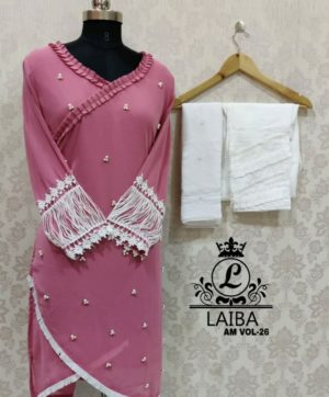 LAIBA LUXURY PRET AM VOL 26 WITH EXCLUSIVE PANTS