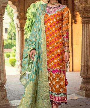RAMSHA R 112 PAKISTANI SUITS WHOLESALER