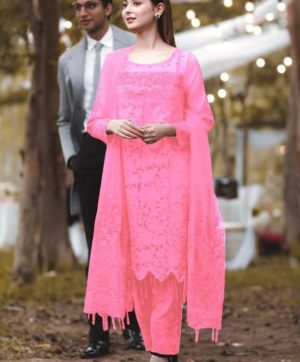 RANG RASIYA PINK PAKISTANI SUITS WHOLESALER