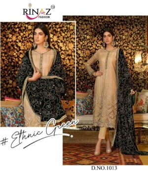 RINAZ FASHION 1013 LATEST PAKISTANI SUITS WHOLESALER