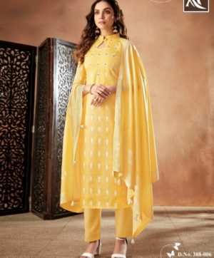 ALOK BLOOM COTTON SALWAR SUITS SUPPLIER 8