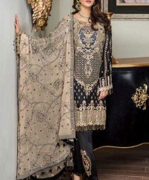 RAMSHA PAKISTANI SALWAR SUITS DESIGN NO R-140