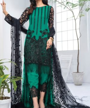 RAMSHA R-132 COLOUR NX PAKISTANI SALWAR SUITS COLLECTION 1