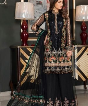 RAMSHA R-142 PAKISTANI SALWAR SUITS WHOLESALE SURAT