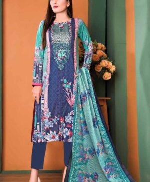 GUL AHMED VOL 5 PURE LAWN COLLECTION DESIGN NO 46