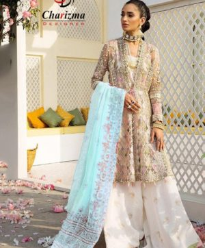 CHARIZMA DESIGNER 14001 C PAKISTANI SUITS