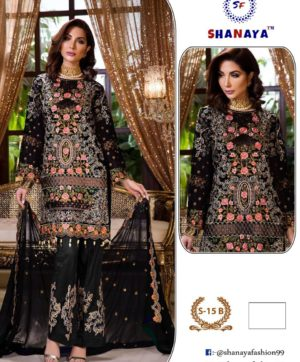 SHANAYA FASHION S 15 B PAKISTANI SUITS WHOLESALER