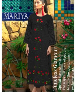 PAKISTANI SALWAR SUITS BLACK HIT DESIGN