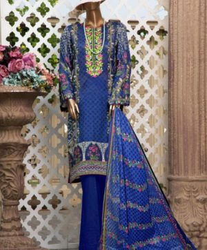 GULL AAHMED LAWN COLLECTION 01 KARACHI SUITS