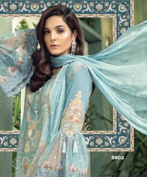 SHREE FABS MARIYA B EID COLLECTION DESIGN NO 5602