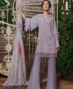 FEPIC ROSEMEEN CHIKANKARI IN SINGLE 46007 DESIGN NO