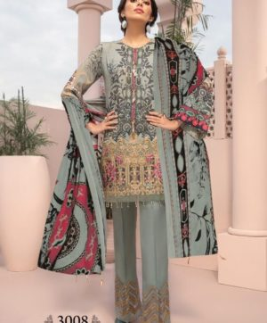 IRIS VOL 3 3008 KARACHI SUITS WHOLESALER