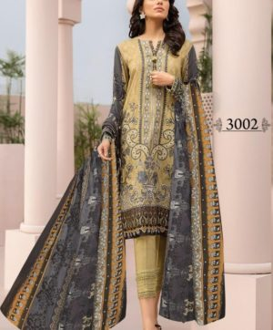 IRIS VOL 3 3002 KARACHI SUITS WHOLESALER