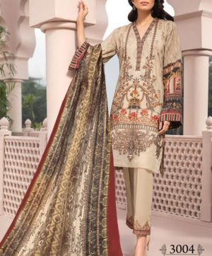 IRIS VOL 3 3004 KARACHI SUITS WHOLESALER