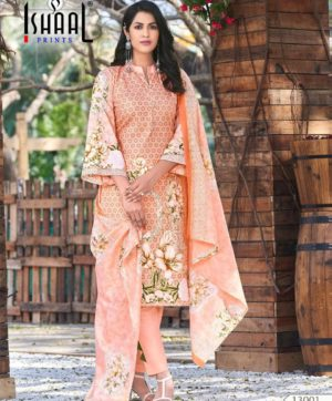 ISHAAL PRINTS GULMOHAR VOL 13 DESIGN NO 13001