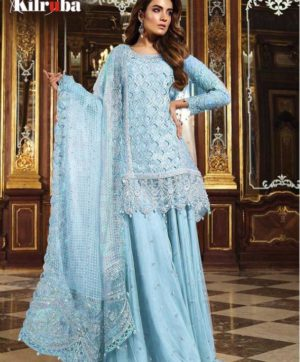 KILRUBA K 12 PAKISTANI GEORGETTE SUITS WHOLESALER2